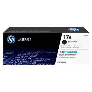 HP 17A Black Toner Cartridge (1600 Pages)