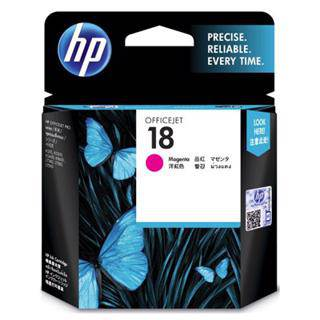 HP 18 Magenta Ink Cartridge (850 Pages)
