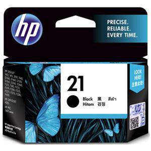 HP 21 Black Ink Cartridge (190 Pages)