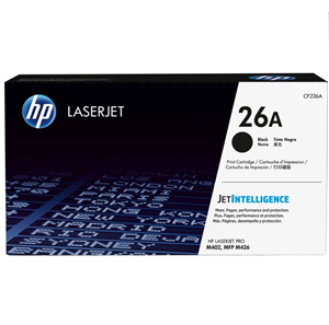 HP 26A Black Toner Cartridge (3000 Page)