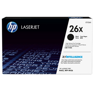 HP 26X Black Toner Cartridge (9000 Page)