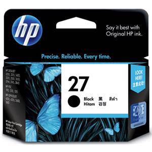 HP 27 Black Ink Cartridge (280 Pages)