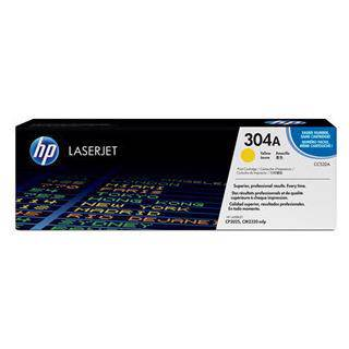 HP 304A Yellow Toner Cartridge (2800 Pages)