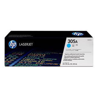 HP 305A Cyan Toner Cartridge (2600 Pages)