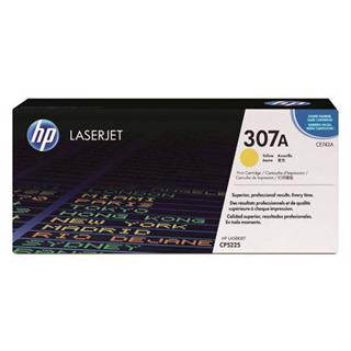 HP 307A Yellow Toner Cartridge (7300 Pages)
