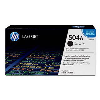 HP 504A Black Toner Cartridge (5000 Pages)