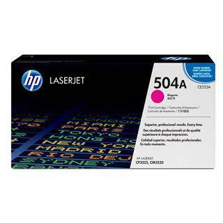 HP 504A Magenta Toner Cartridge (7000 Pages)