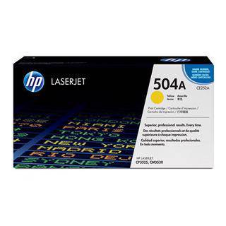 HP 504A Yellow Toner Cartridge (7000 Pages)