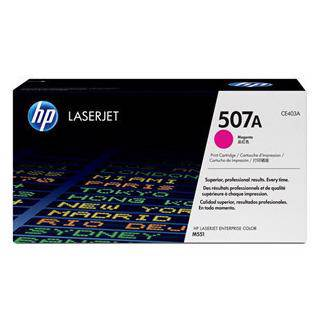 HP 507A Magenta Toner Cartridge (6000 Pages)