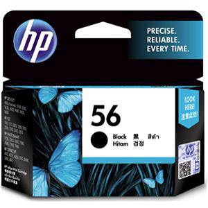 HP 56 Black Ink Cartridge (520 Pages)