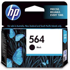 HP 564 Black Ink Cartridge (250 Pages)