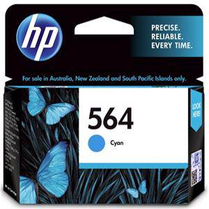 HP 564 Cyan Ink Cartridge (300 Pages)