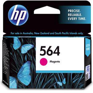 HP 564 Magenta Ink Cartridge (300 Pages)