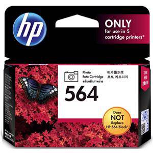 HP 564 Photo Black Ink Cartridge (170 Pages)