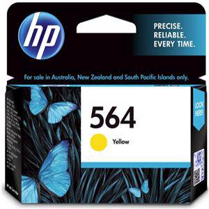 HP 564 Yellow Ink Cartridge (300 Pages)