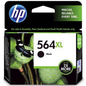 HP 564XL Black Ink Cartridge (550 Pages)