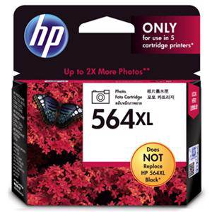 HP 564XL Photo Black Ink Cartridge (290 Pages)