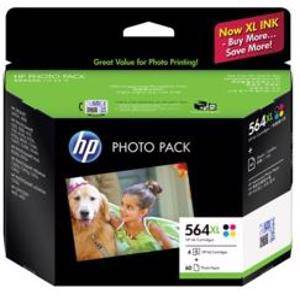 HP 564XL Value Pack (4 Pack)