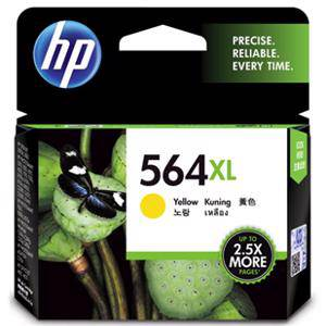 HP 564XL Yellow Ink Cartridge (750 Pages)
