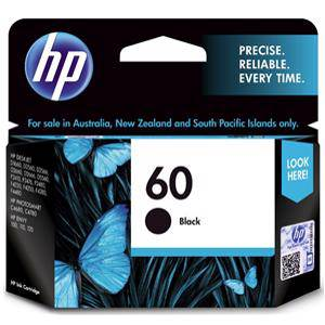 HP 60 Black Ink Cartridge (200 Pages)