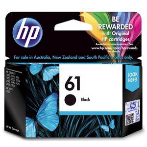 HP 61 Black Ink Cartridge (190 Pages)
