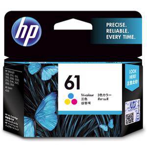 HP 61 Colour Ink Cartridge (165 Pages)