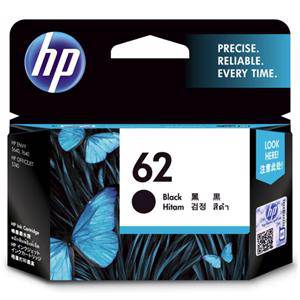 HP 62 Black Ink Cartridge (200 Pages)