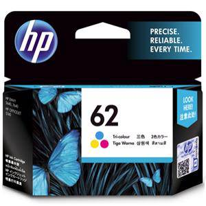 HP 62 Colour Ink Cartridge (165 Pages)