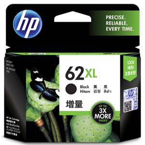 HP 62XL Black Ink Cartridge (600 Pages)