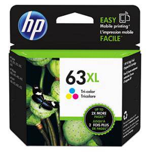HP 63XL Colour Ink Cartridge (330 Pages)