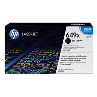 HP 649X Black Toner Cartridge (17,000 Pages)