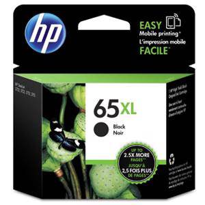 HP 65XL Black Ink Cartridge (300 Pages)