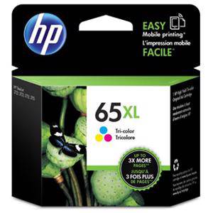 HP 65XL Colour Ink Cartridge (300 Pages)