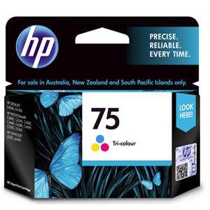 HP 75 Colour Ink Cartridge (210 Pages)