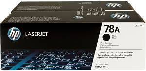 HP 78A Black Toner Cartridge (2100 Pages)