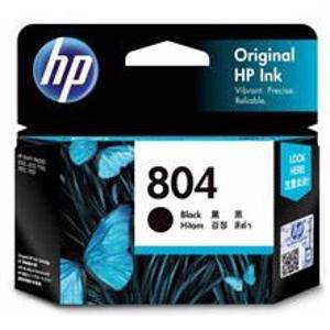 HP 804 Black Ink Cartridge (200 Pages)