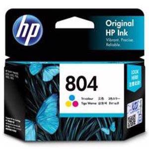 HP 804 Colour Ink Cartridge (165 Pages)