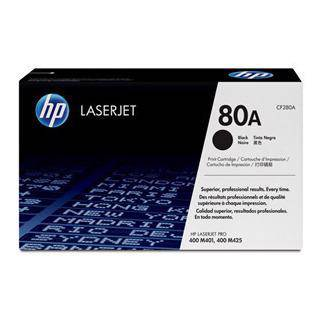 HP 80A Black Toner Cartridge (2700 Pages)