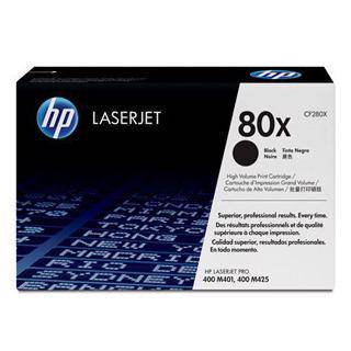 HP 80X Black Toner Cartridge (6900 Pages)
