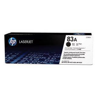 HP 83A Black Toner Cartridge (1500 Pages)