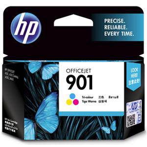 HP 901 Colour Ink Cartridge (360 Pages)