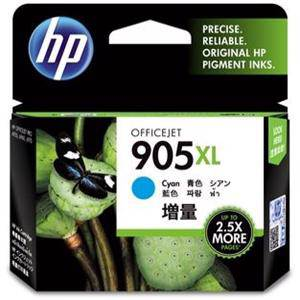 HP 905XL Cyan Ink Cartridge (825 Pages)