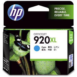 HP 920XL Cyan Ink Cartridge (700 Pages)