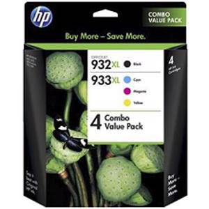 HP 932XL/933XL Value Pack (4 pack)