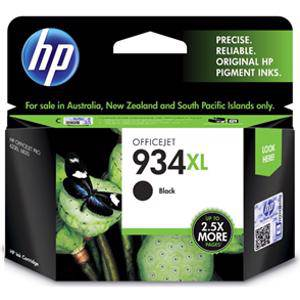 HP 934XL Black Ink Cartridge (1000 Pages)