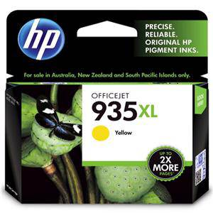 HP 935XL Yellow Ink Cartridge (825 Pages)