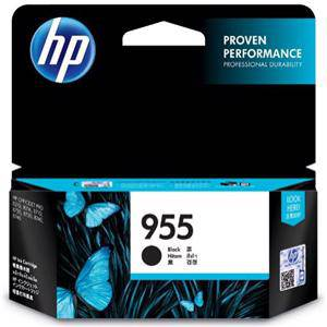 HP 955 Black Ink Cartridge (1000 Pages)