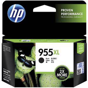 HP 955XL Black Ink Cartridge (2000 Pages)
