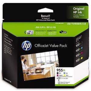 HP 955XL Value Pack (4 Pack)