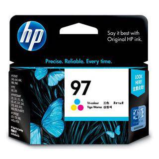 HP 97 Tri-color Ink Cartridge (560 Pages)